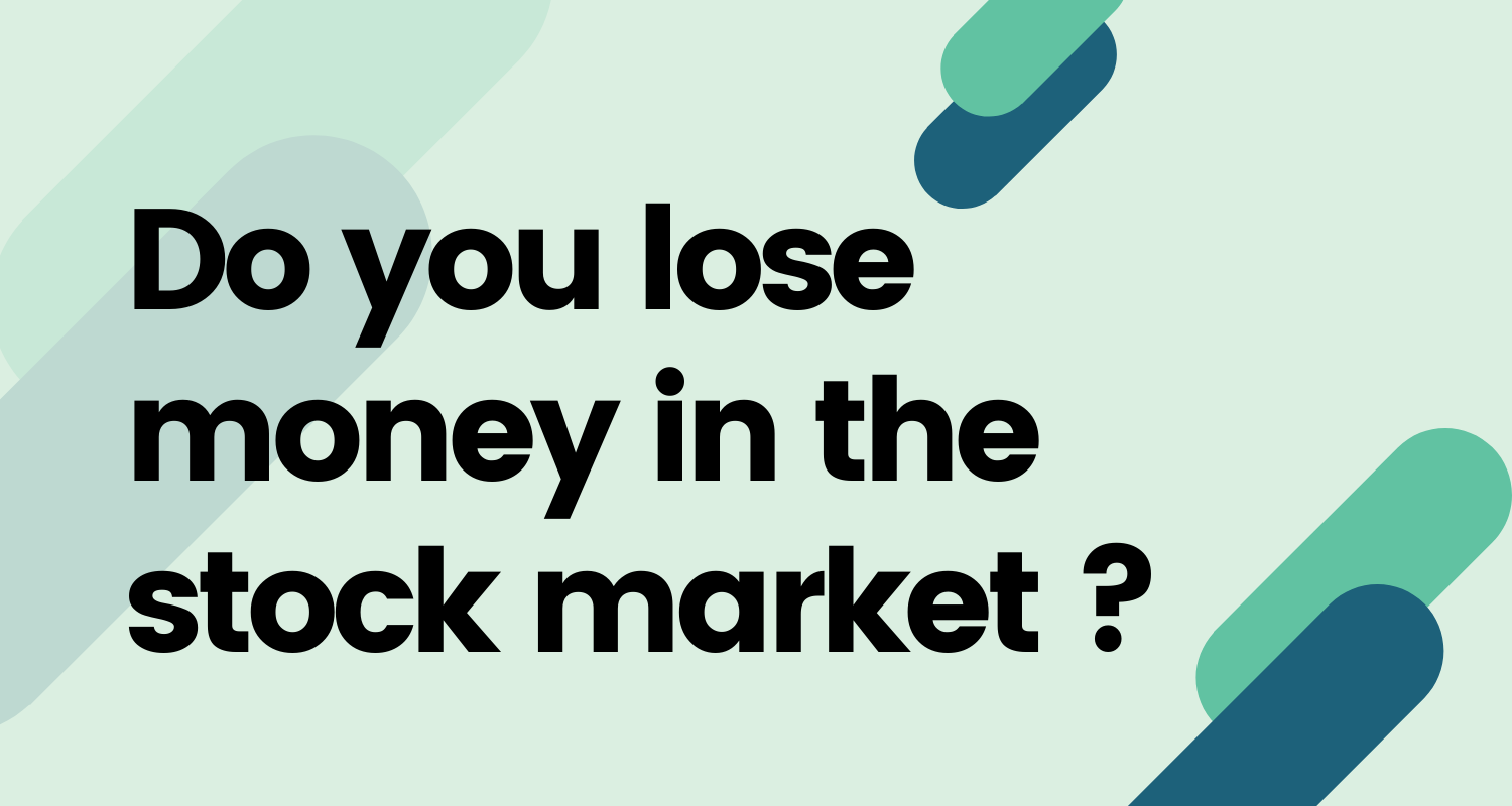 Do you lose money in the stock market post feature image