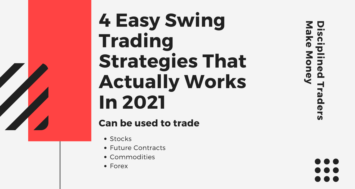 Feature image for 4 Easy Swing Trading Strategies That Actually Works In 2021 post